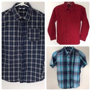 Lot of 3 Button-Down Shirts Crazy 8, Children's Pl